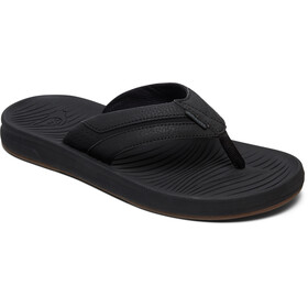 Quiksilver Travel Oasis Sandals Men Black/Black/Brown